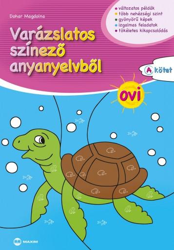VARÁZSLATOS SZÍNEZŐ ANYANYELVBŐL OVI
