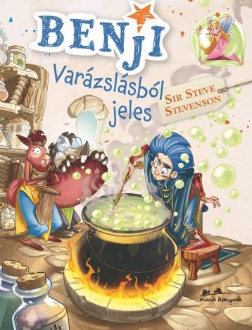 BENJI 3. - VARÁZSLÁSBÓL JELES - Ekönyv - STEVENSON, STEVE SIR