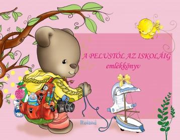 A PELUSTÓL AZ ISKOLÁIG - EMLÉKKÖNYV (RÓZSASZÍN) - Ekönyv - ROLAND TOYS KFT.