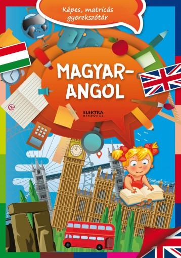 MAGYAR-ANGOL - KÉPES,MATRICÁS GYEREKSZÓTÁR - Ekönyv - ELEKTRA KÖNYVKIADÓ KFT.