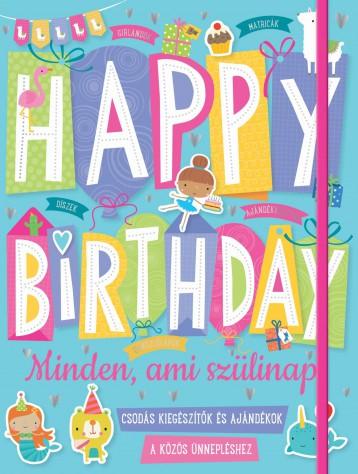 HAPPY BIRTHDAY - MINDEN, AMI SZÜLINAP - Ekönyv - -