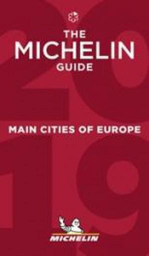 THE MICHELIN GUIDE - EURÓPA FŐVÁROSAI ÉTTEREMKALAUZ 2019 - MAIN CITITIES OF EUR - Ekönyv - MICHELIN