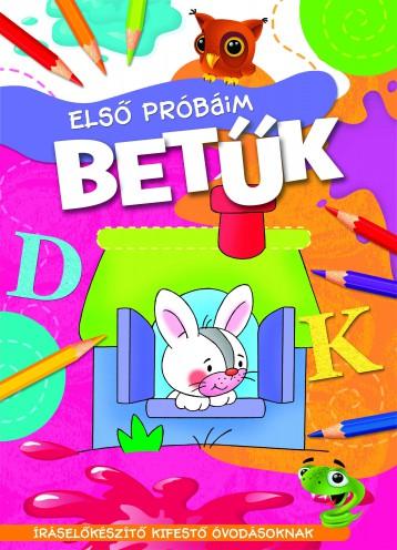 ELSŐ PRÓBÁIM - BETŰK - Ekönyv - AKSJOMAT KIADÓ KFT.