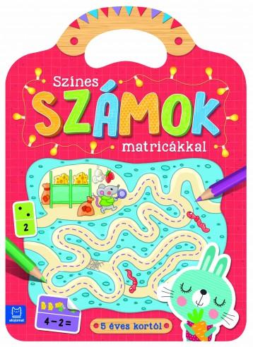 SZÍNES SZÁMOK MATRICÁKKAL - Ekönyv - AKSJOMAT KIADÓ KFT.