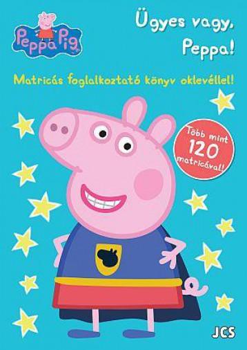 PEPPA MALAC - ÜGYES VAGY PEPPA! - MATRICÁS FOGLALKOZTATÓ - Ekönyv - JCS MÉDIA KFT