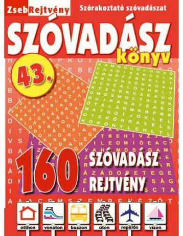 ZSEBREJTVÉNY SZÓVADÁSZ KÖNYV 43. - Ekönyv - CSOSCH KFT.