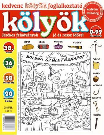 KEDVENC KÖLYÖK FOGLALKOZTATÓ 38. - Ekönyv - CSOSCH KFT.