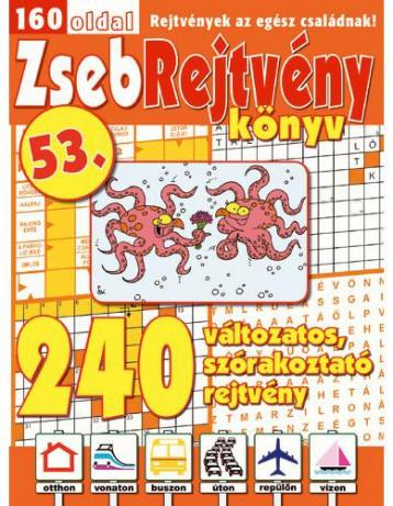 ZSEBREJTVÉNY KÖNYV 53. - Ekönyv - CSOSCH KFT.