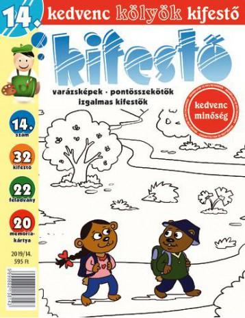 KEDVENC KÖLYÖK KIFESTŐ 14. - Ekönyv - CSOSCH KFT.