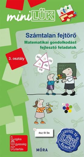 SZÁMTALAN FEJTÖRŐ 3. OSZTÁLY - MATEMATIKAI GONDOLKODÁST FEJLESZTŐ FELADATOK - Ebook - LDI-549