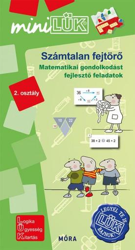 SZÁMTALAN FEJTÖRŐ 2. OSZTÁLY - MATEMATIKAI GONDOLKODÁST FEJLESZTŐ FELADATOK - Ebook - LDI-548