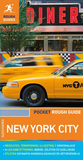 NEW YORK CITY - POCKET ROUGH GUIDE - TÉRKÉPMELLÉKLETTEL
