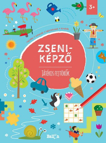 ZSENIKÉPZŐ - JÁTÉKOS FEJTÖRŐK - Ekönyv - BALLON