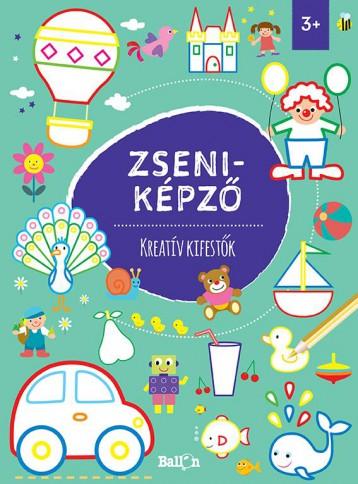 ZSENIKÉPZŐ - KREATÍV KIFESTŐK - Ekönyv - BALLON