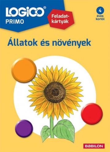 LOGICO PRIMO - ÁLLATOK ÉS NÖVÉNYEK - Ekönyv - TESSLOFF ÉS BABILON KIADÓI KFT.