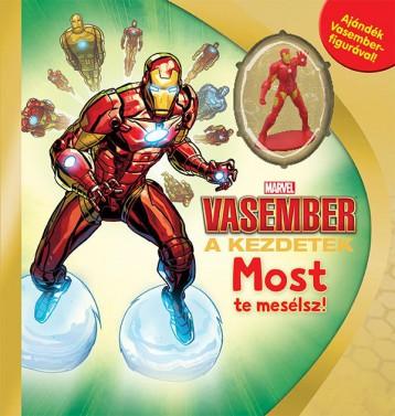 MARVEL - MOST TE MESÉLSZ! - VASEMBER - Ekönyv - KOLIBRI GYEREKKÖNYVKIADÓ KFT.