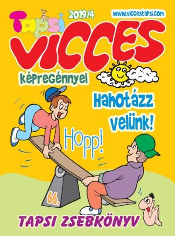 VICCES TAPSI - 2019/4 - KÉPREGÉNNYEL 66. - Ekönyv - LAPU BT.