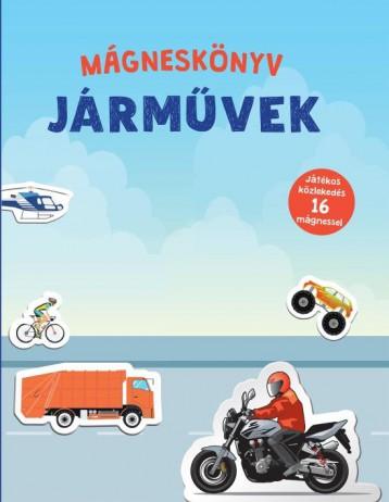 MÁGNESKÖNYV - JÁRMŰVEK - Ekönyv - CENTRAL KÖNYVEK