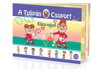 A TULIPÁN CSOPORT 12.- KLÁRA RAJZOL - Ekönyv - SZABÓ ÁGNES