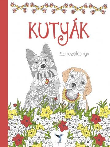 KUTYÁK - SZÍNEZŐKÖNYV - Ekönyv - LEVITER KIADÓ