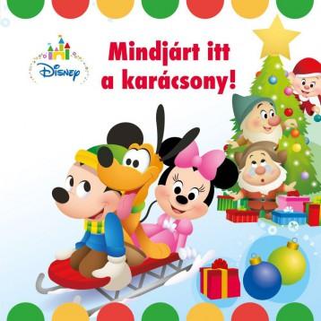 DISNEY BABY - MINDJÁRT ITT A KARÁCSONY! - Ekönyv - MANÓ KÖNYVEK