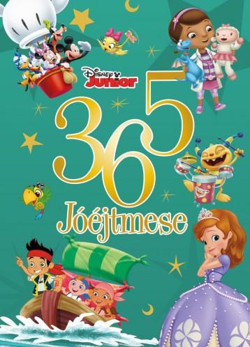 DISNEY JUNIOR - 365 JÓÉJTMESE - Ekönyv - MANÓ KÖNYVEK