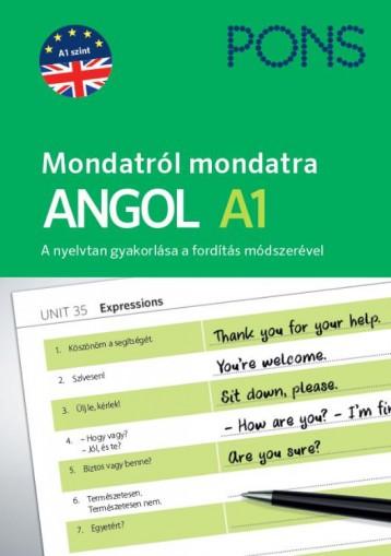 PONS MONDATRÓL MONDATRA - ANGOL A1 - Ekönyv - FILAK, MAGDALENA
