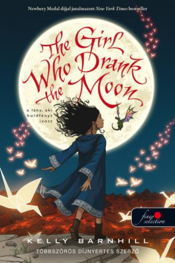 THE GIRL WHO DRANK THE MOON - A LÁNY, AKI HOLDFÉNYT IVOTT - Ekönyv - BARNHILL, KELLY