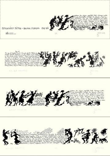 EGY NŐ - (KÉPESLAPOK) - Ekönyv - ESTERHÁZY PÉTER-BANGA FERENC