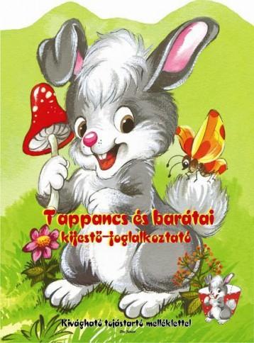 TAPPANCS ÉS BARÁTAI KIFESTŐ-FOGLALKOZTATÓ - Ekönyv - PRO JUNIOR KIADÓ