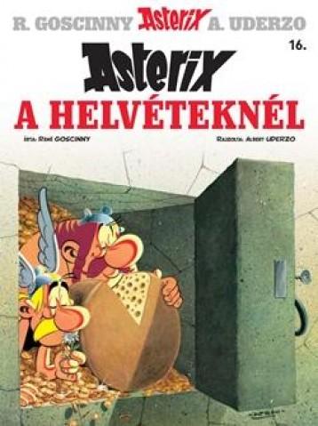 ASTERIX A HELVÉTEKNÉL - ASTERIX 16. - Ekönyv - GOSCINNY, RENÉ