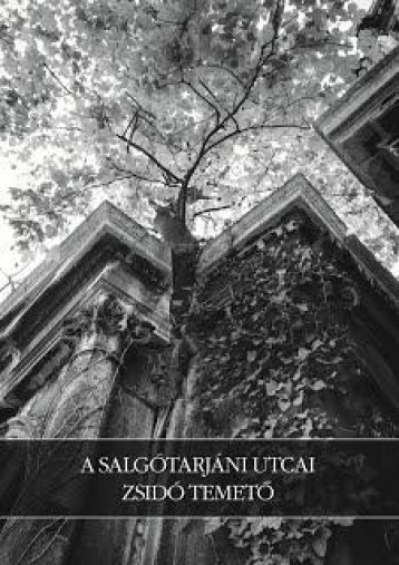 A SALGÓTARJÁNI UTCAI ZSIDÓ TEMETŐ - Ekönyv - TÓTH VILMOS