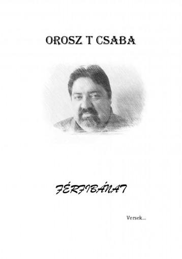 Férfibánat - Ekönyv - Orosz T Csaba