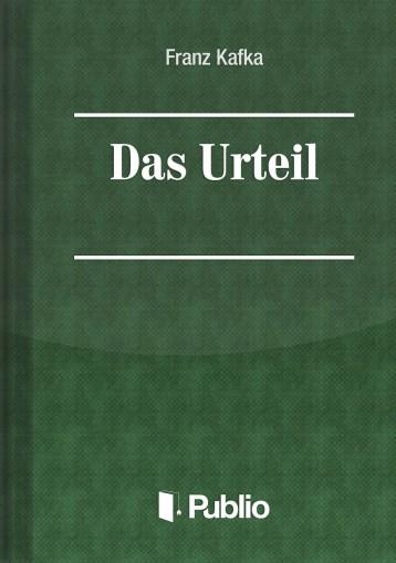 Das Urteil - Ekönyv - Franz Kafka