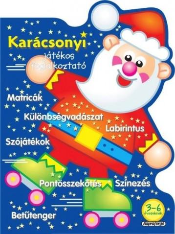 Karácsonyi játékos foglalkoztató - Kék - Ekönyv - NAPRAFORGÓ KÖNYVKIADÓ