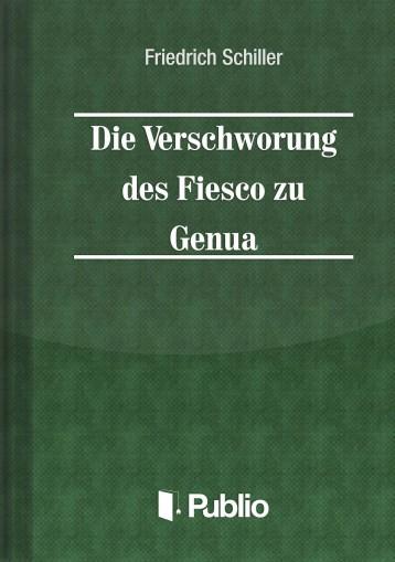 Die Verschwoerung des Fiesco zu Genua  - Ekönyv - Friedrich Schiller