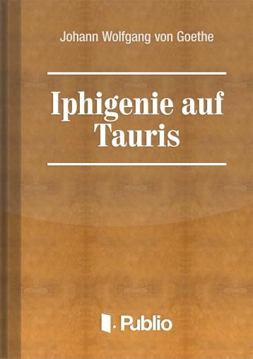Iphigenie auf Tauris - Ekönyv - Johann Wolfgang von Goethe