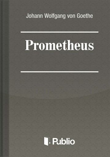 Prometheus - Ebook - Johann Wolfgang von Goethe