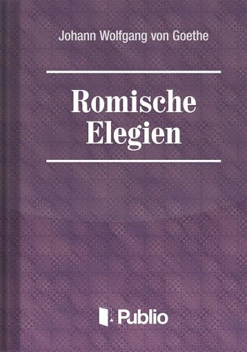 Roemische Elegien - Ebook - Johann Wolfgang von Goethe