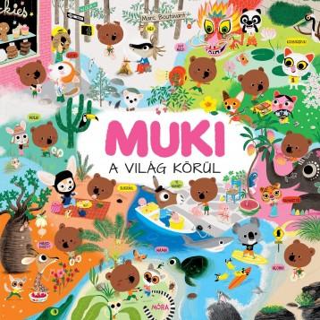 MUKI A VILÁG KÖRÜL - Ekönyv - BOUTAVANT, MARC