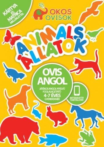 ANIMALS - ÁLLATOK - OVIS ANGOL - JÁTÉKOS ANGOL NYELVŰ FOGLALKOZTATÓ - Ekönyv - GREEN RABBIT KIADÓ