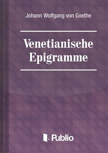 Venetianische Epigramme