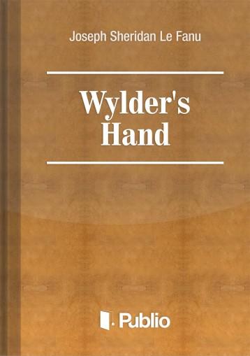 Wylder\'s Hand - Ebook - Joseph Sheridan Le Fanu