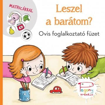 LESZEL A BARÁTOM? - OVIS FOGLALKOZTATÓ FÜZET MATRICÁKKAL - Ekönyv - VADADI ADRIENN-PÁSZTOHY PANKA