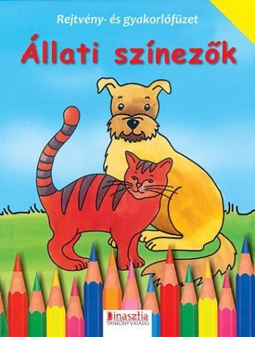 ÁLLATI SZÍNEZŐK - Ekönyv - DI-458403