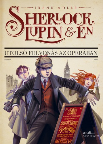 Sherlock, Lupin és én - Ekönyv - Irene Adler