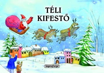 Téli kifestő - Ekönyv - NAPRAFORGÓ KÖNYVKIADÓ