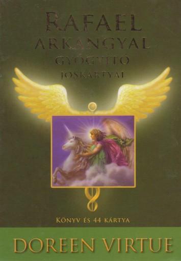 RAFAEL ARKANGYAL GYÓGYÍTÓ JÓSKÁRTYÁI - KÖNYVV ÉS 44 KÁRTYA - Ekönyv - VIRTUE, DOREEN