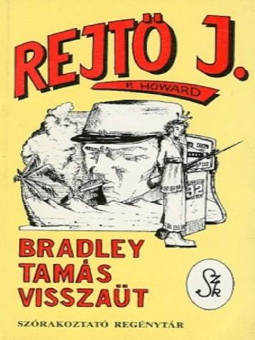 Bradley Tamás Visszaüt  - Ekönyv - Rejtő Jenő