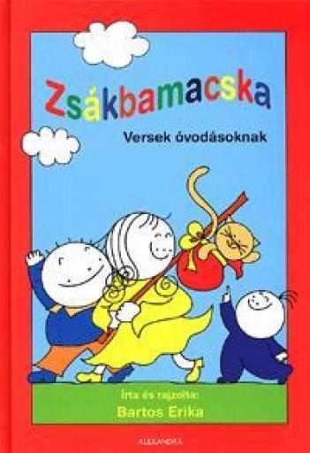 ZSÁKBAMACSKA - VERSEK ÓVODÁSOKNAK - - Ebook - BARTOS ERIKA